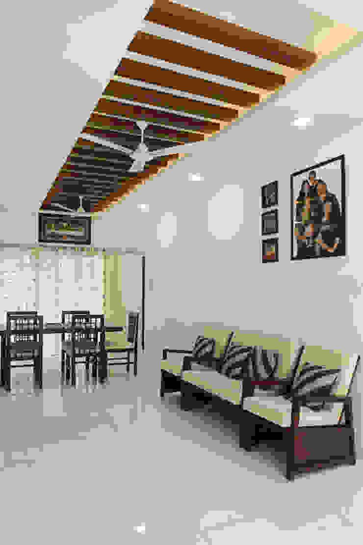 Dr. P.S.John Modern living room by stanzza Modern