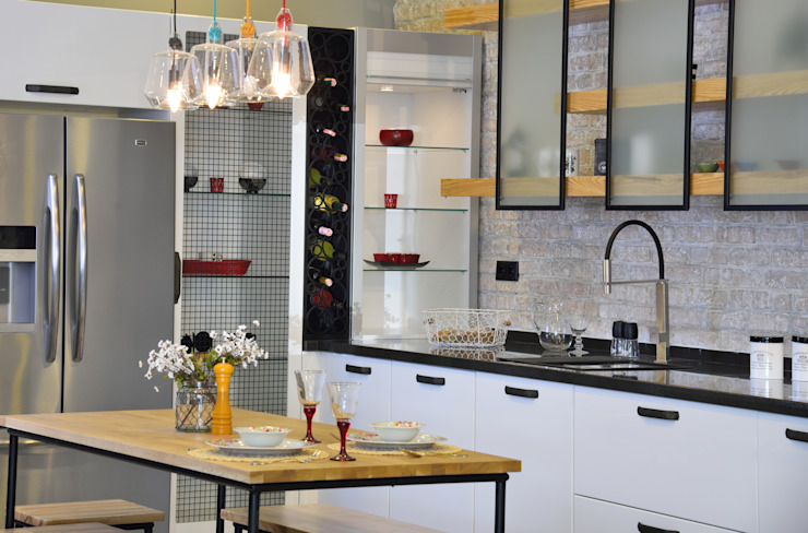 Bodrum Femaş Mobilya 廚房廚房器具 White