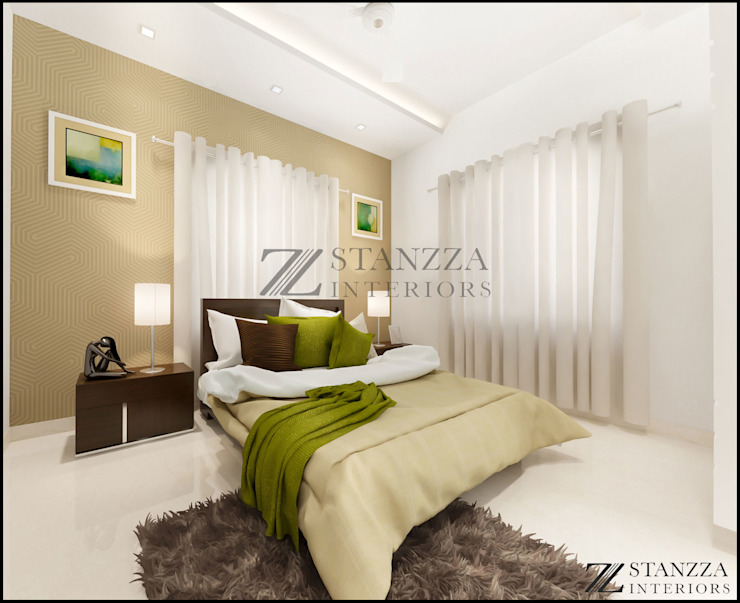 Jubin Raj Modern style bedroom by stanzza Modern