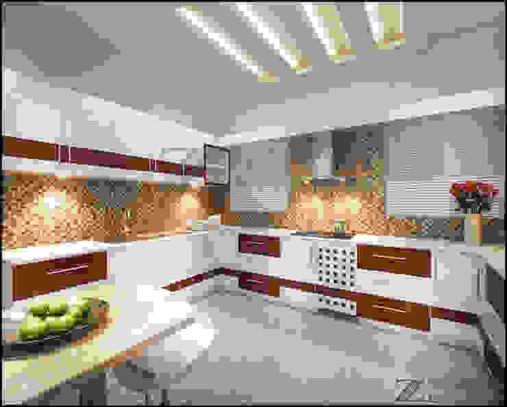 Liju Cherian Modern kitchen by stanzza Modern