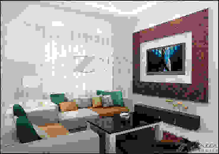 Salon moderne par stanzza Moderne