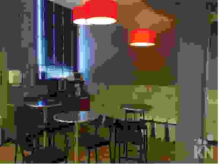 Copa Escritórios modernos por KN Arquitetura Moderno