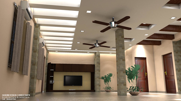 Residence Modern corridor, hallway & stairs by Al Imaraa Modern
