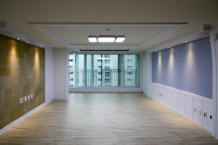 Salon moderne par homify Moderne
