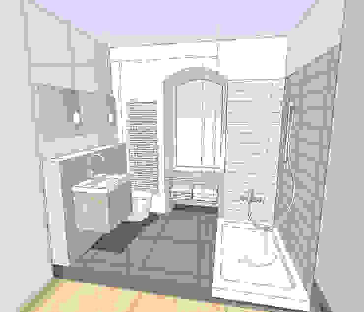 HONEYandSPICE innenarchitektur + design Kamar Mandi Modern