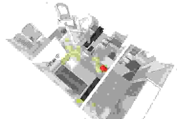 Moderne badkamers van HONEYandSPICE innenarchitektur + design Modern