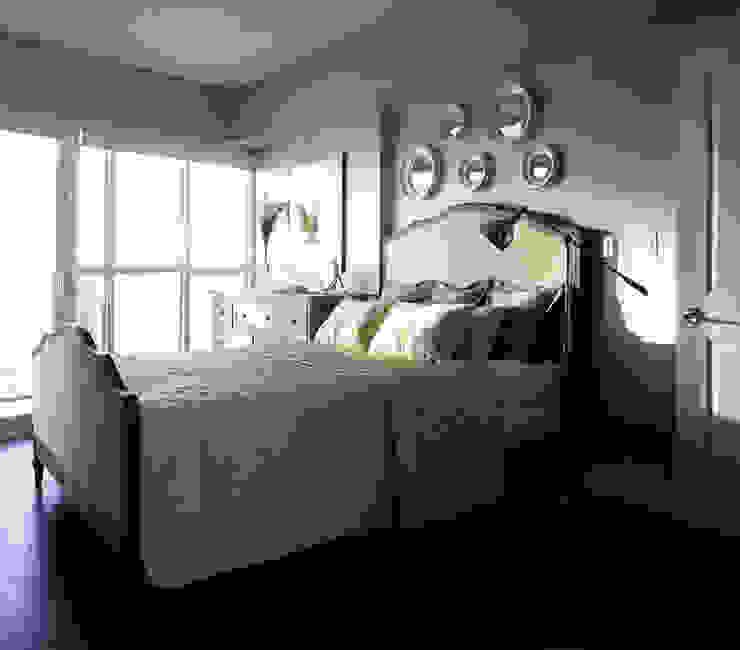 Appartement, 2012 ANNA DUVAL Chambre classique Gris