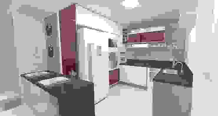Apartamento FH Cozinhas modernas por INOVAT Arquitetura e interiores Moderno