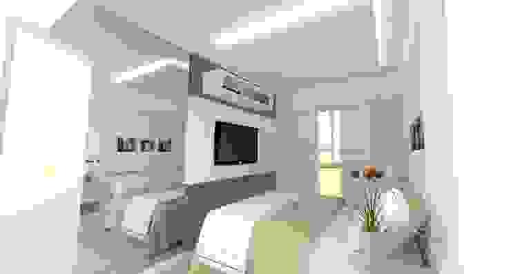 Apartamento FH Quartos modernos por INOVAT Arquitetura e interiores Moderno