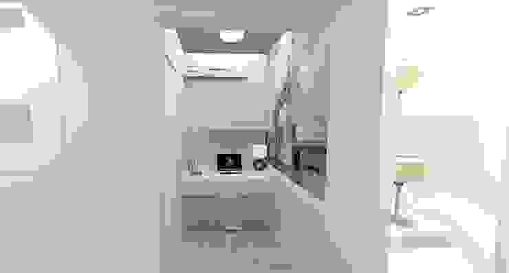 Apartamento FH Escritórios modernos por INOVAT Arquitetura e interiores Moderno