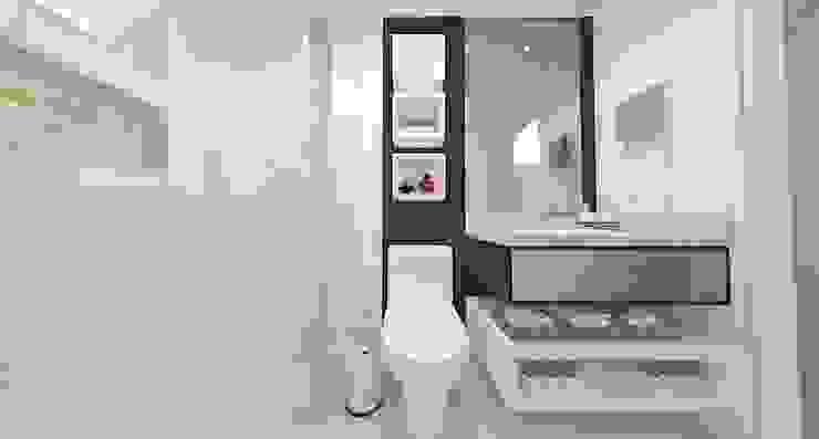 Apartamento FH Banheiros modernos por INOVAT Arquitetura e interiores Moderno