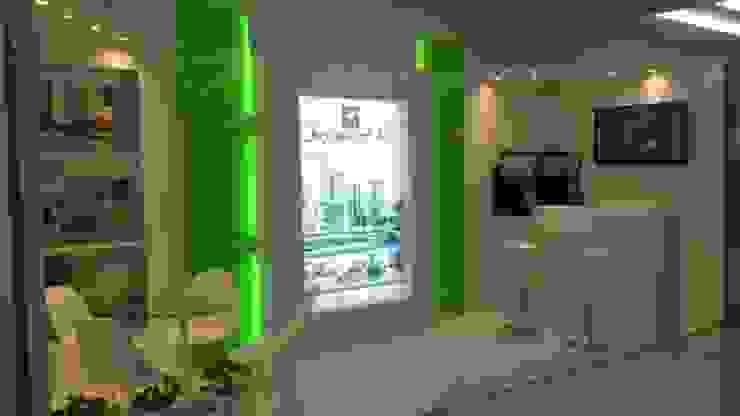 Stand de Feria promocion del proyecto Boulevard 41 Estudios y despachos de estilo moderno de Oleb Arquitectura & Interiorismo Moderno