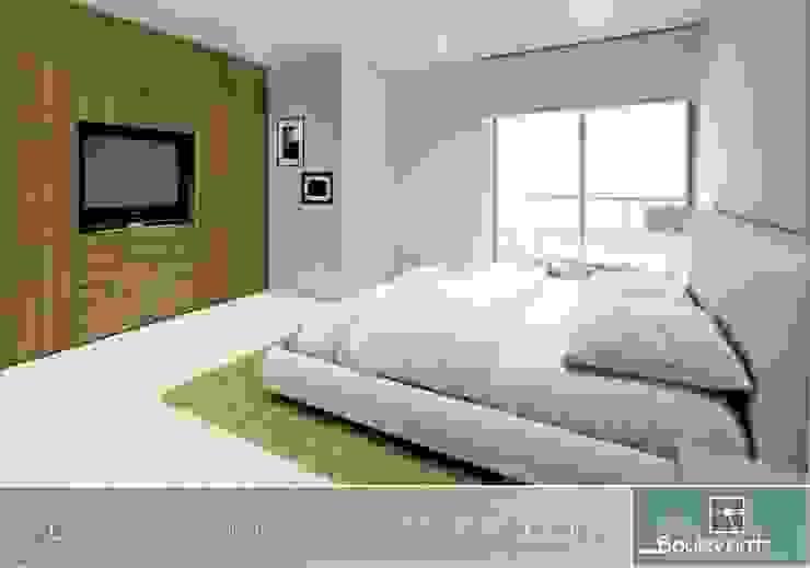 Boulevard 41 Habitaciones modernas de Oleb Arquitectura & Interiorismo Moderno