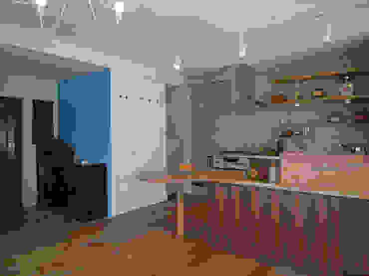 勝どきマンションリフォーム 北欧デザインの キッチン の ヤマトヒロミ設計室 北欧