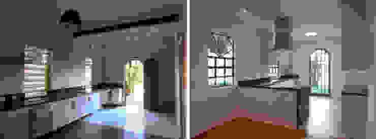 Casa Jardim paulistano foto cozinha integrada por Bel e Tef Atelier da Reforma