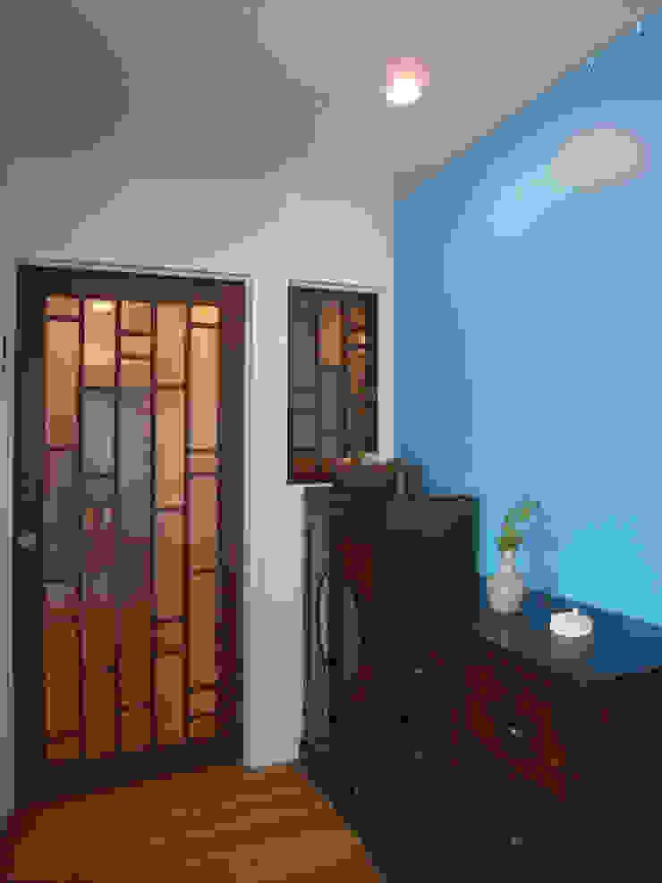 勝どきマンションリフォーム 北欧スタイルの 玄関&廊下&階段 の ヤマトヒロミ設計室 北欧