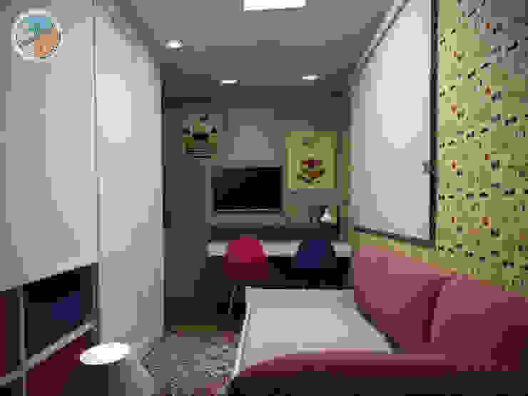Apartamento Panamby Quarto infantil eclético por Bel e Tef Atelier da Reforma Eclético