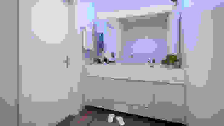 APTO DF Banheiros modernos por AF Arquitetura Moderno