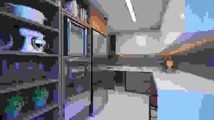 APTO DF Cozinhas modernas por AF Arquitetura Moderno