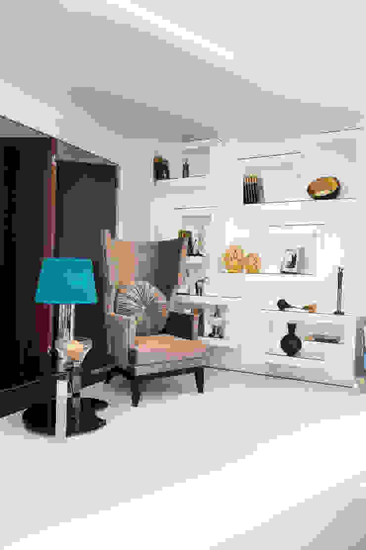 Casa Covelo Salas de estar minimalistas por mioconcept Minimalista