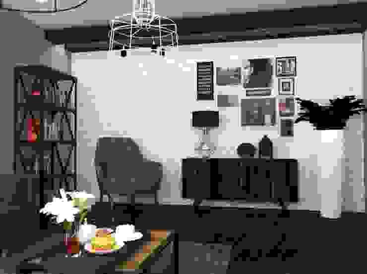 Мужская Гостиная Гостиная в стиле минимализм от MARIYA SHEVCHENKO Минимализм