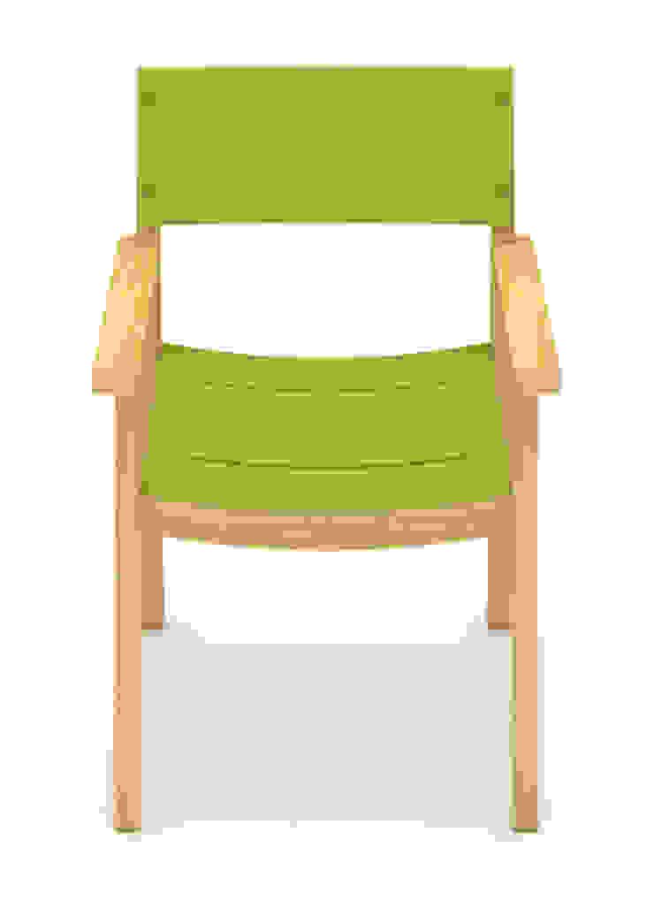 Silla - Pardo de diesco Moderno Derivados de madera Transparente