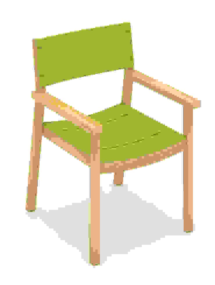 Silla – Pardo de diesco Moderno Derivados de madera Transparente