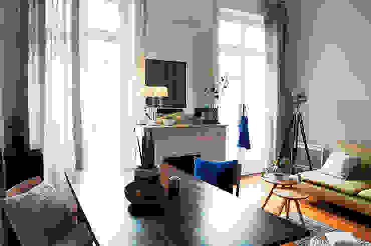 Cécilia Cretté architecte Living room
