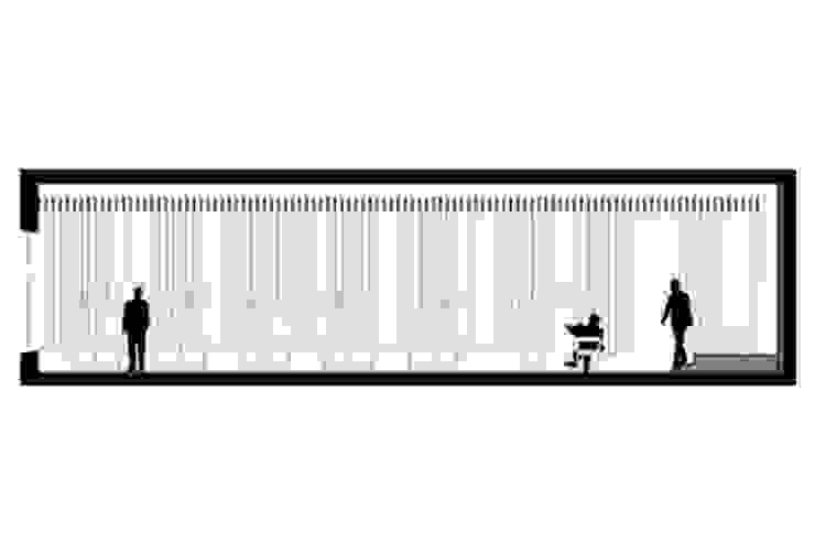 Piazza Régio Bar por ASVS Arquitectos Associados Moderno