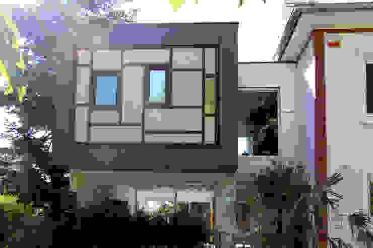 Extension Contemporaine à Meudon Olivier Stadler Architecte Maisons modernes Bois composite Effet bois