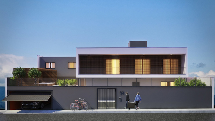 CASA SJ Casas modernas por AF Arquitetura Moderno