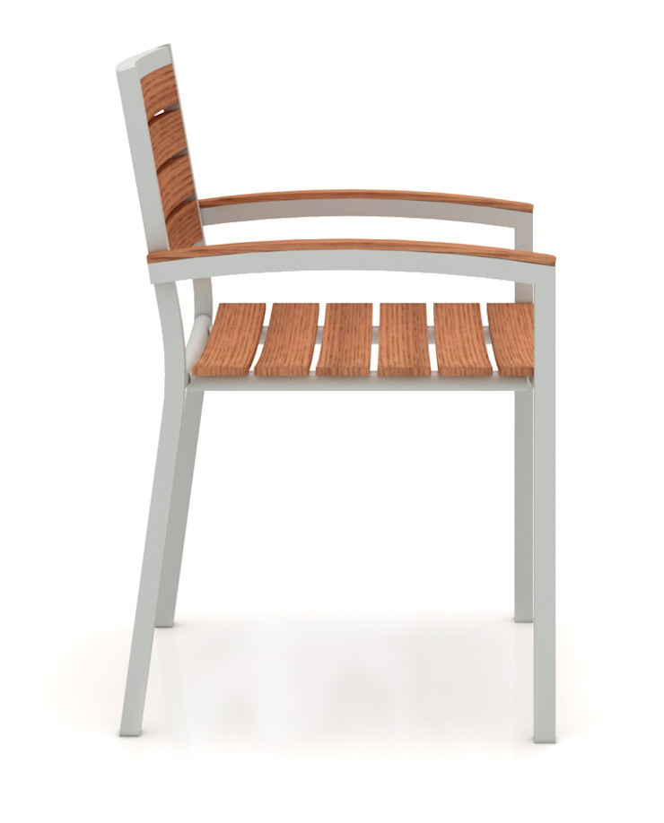 Silla – Andes de diesco Moderno Aluminio/Cinc