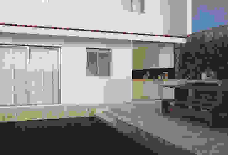Casa na Póvoa de Varzim: Terraços  por ASVS Arquitectos Associados,Moderno
