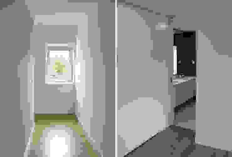 Apartamento em Trandeiras, Braga Corredores, halls e escadas minimalistas por ASVS Arquitectos Associados Minimalista