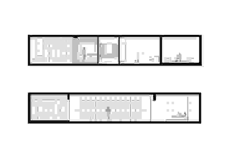 Apartamento em Trandeiras, Braga por ASVS Arquitectos Associados Minimalista
