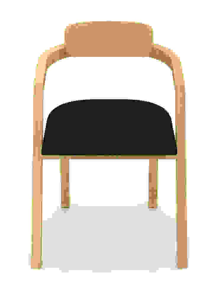Silla - Roselli de diesco Moderno Derivados de madera Transparente