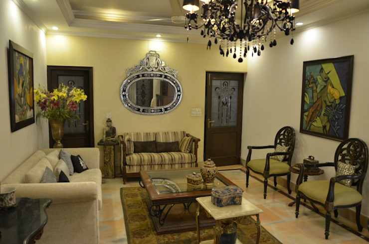 private residence Classic style living room by VISIONS Classic