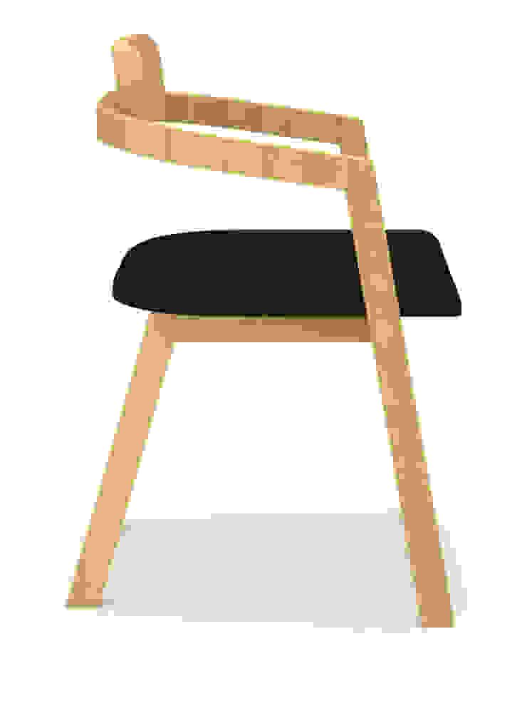 Silla – Roselli de diesco Moderno Derivados de madera Transparente