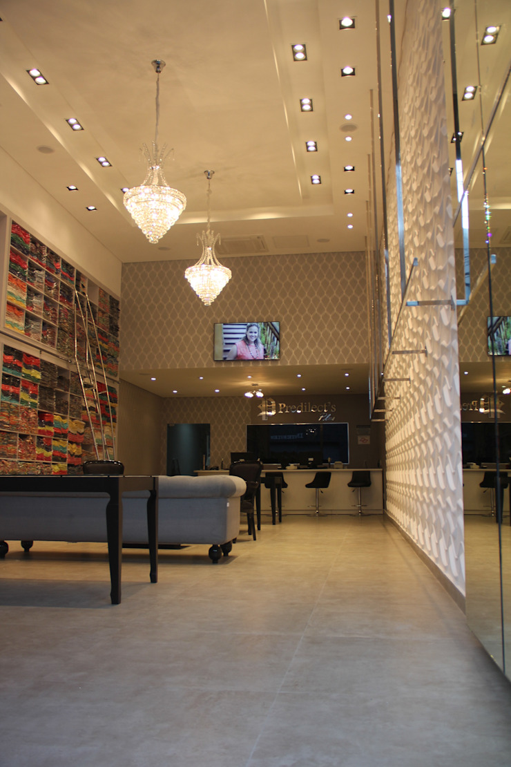 Loja de Roupas Lojas & Imóveis comerciais modernos por ANA PAULA MONTEIRO ARQUITETURA & Moderno