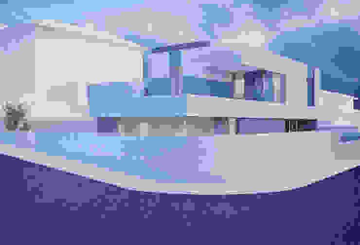 Casa em Arcozelo, Vila Nova de Gaia Casas modernas por ASVS Arquitectos Associados Moderno