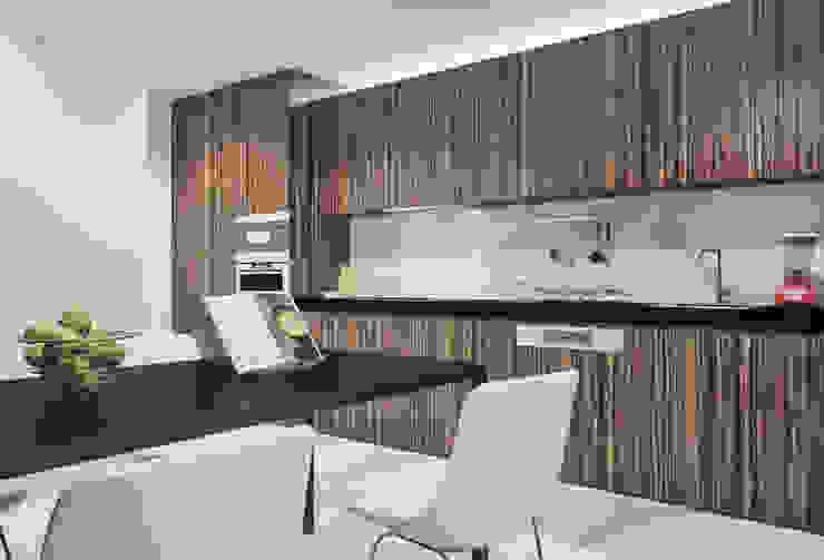 Casa em Arcozelo, Vila Nova de Gaia: Cozinhas  por ASVS Arquitectos Associados,Minimalista