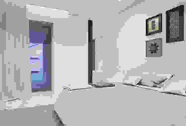 Casa em Arcozelo, Vila Nova de Gaia Quartos modernos por ASVS Arquitectos Associados Moderno