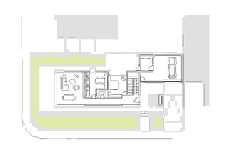 Casa em Arcozelo, Vila Nova de Gaia por ASVS Arquitectos Associados Moderno