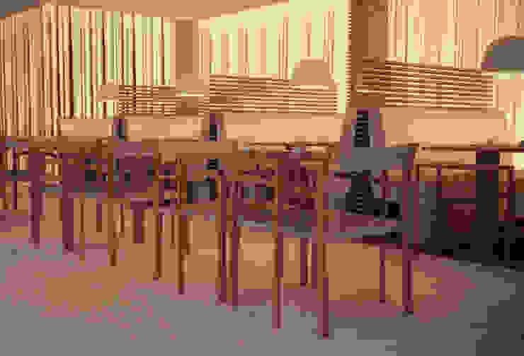 Interiores Aparthotel Salmiya, Doha, Qatar Espaços de restauração modernos por ASVS Arquitectos Associados Moderno