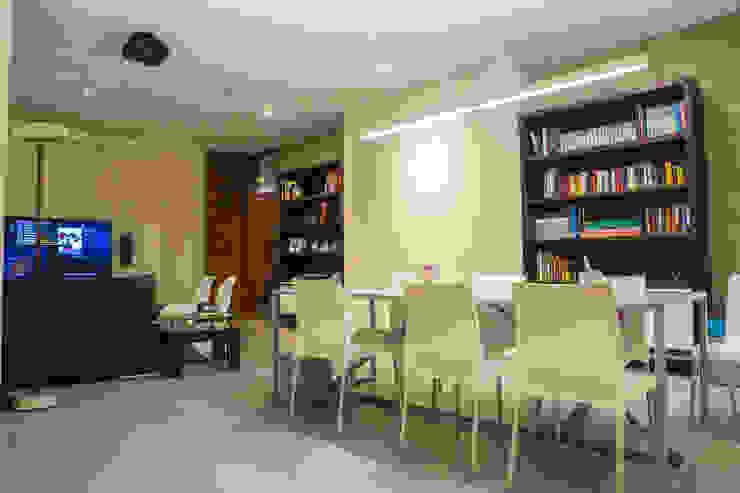 Casa La Estancia Estudios y despachos de estilo moderno de DLPS Arquitectos Moderno