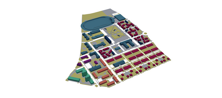 Pojecto Urbano 'Revitalization of the former barracks of Czech Republic army', Litoměřice, República Checa por ASVS Arquitectos Associados