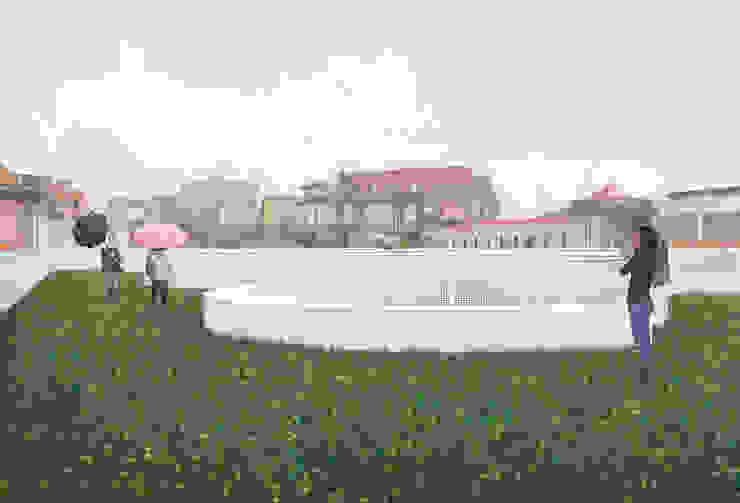 Concurso Público de Conceção para a Revitalização da Praça 2 de Maio, em Viseu Casas modernas por ASVS Arquitectos Associados Moderno