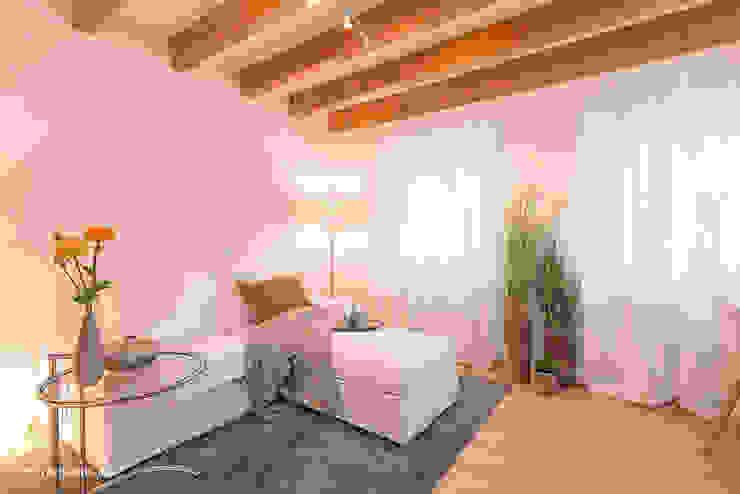 Wohnzimmer nach dem Home Staging von Immotionelles