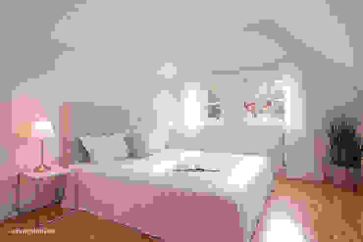 Schlafzimmer nach dem Home Staging von Immotionelles