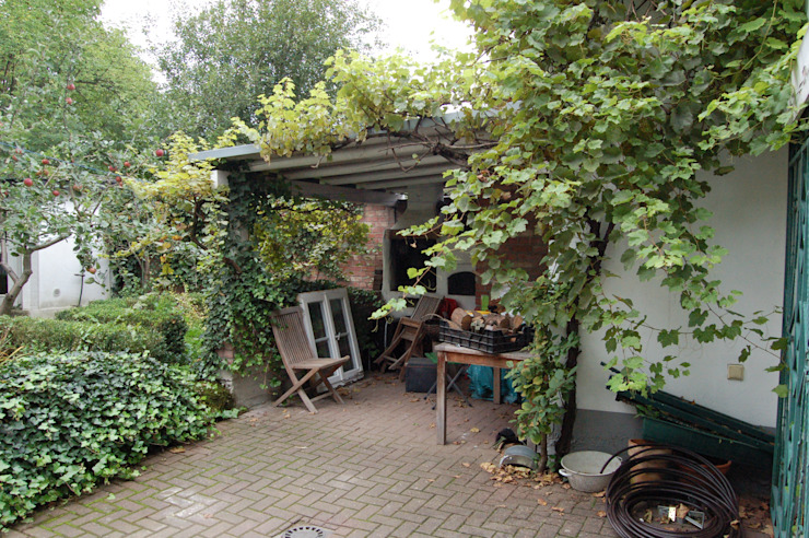 Terrasse, vorher von Immotionelles